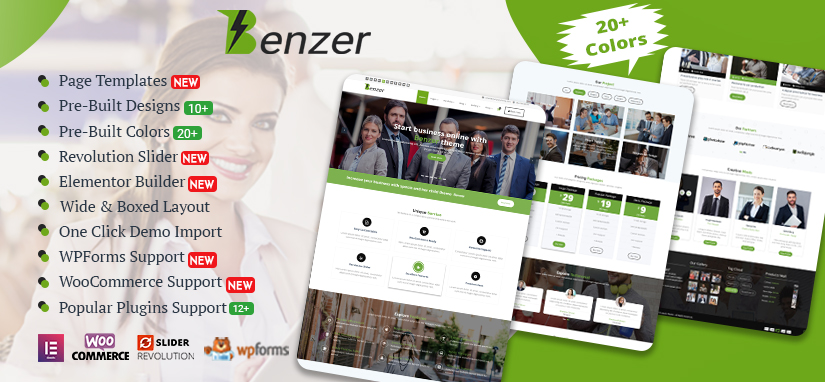 Benzer WordPress Theme