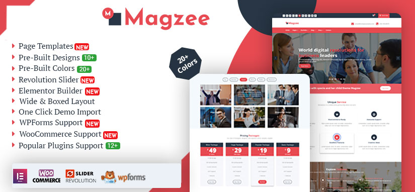 MagZee WordPress Theme