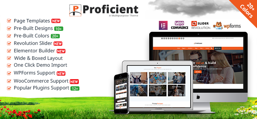 Proficient WordPress Theme