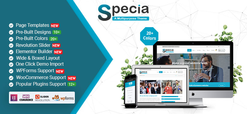 Specia WordPress Theme