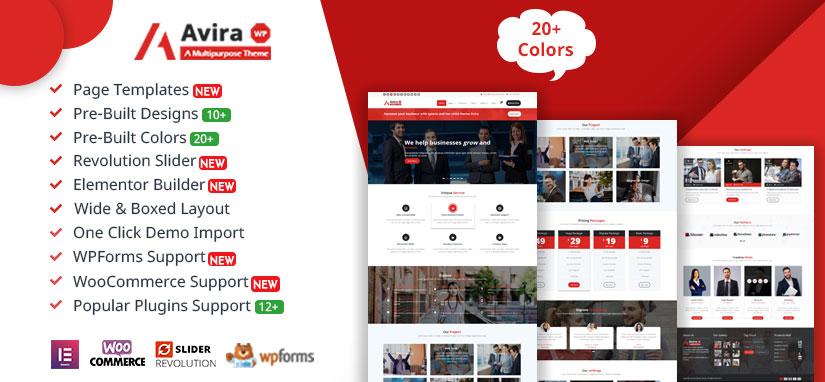 Avira Premium Wordpress Theme - Specia Premium WordPress Theme